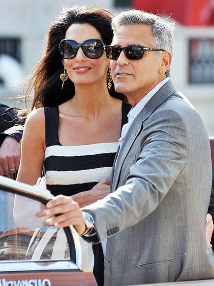 George Clooney i Amal Alamuddin (foto: people)