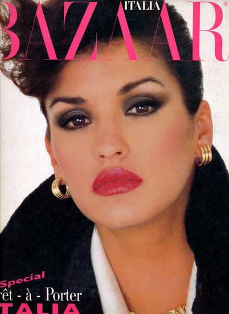 Krasila je naslovne strane svih modnih magazina ( foto: Italia Bazaar )