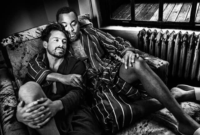 Lee Daniels i Jahil Fisher (foto: Out.com)