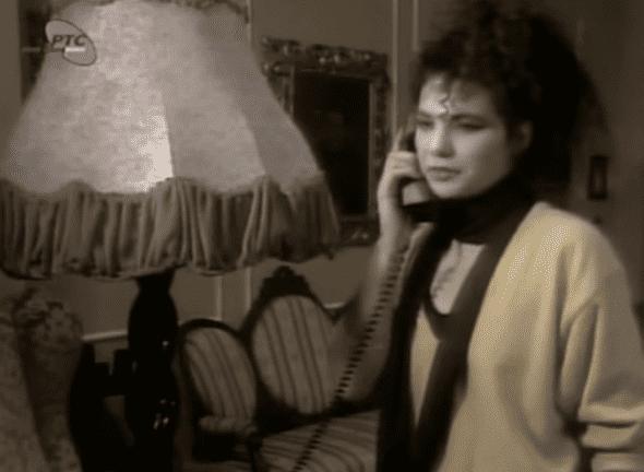 Lidija Vukićević kao Violeta Popadić (foto: printscreen)
