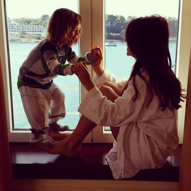 Severina i sin Aleksandar (foto: Facebook)