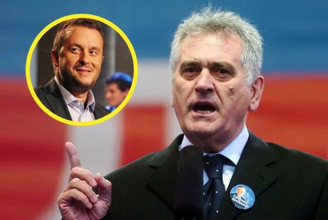 Predsednik protiv Ivanovića (foto: Bloomberg/Prva)