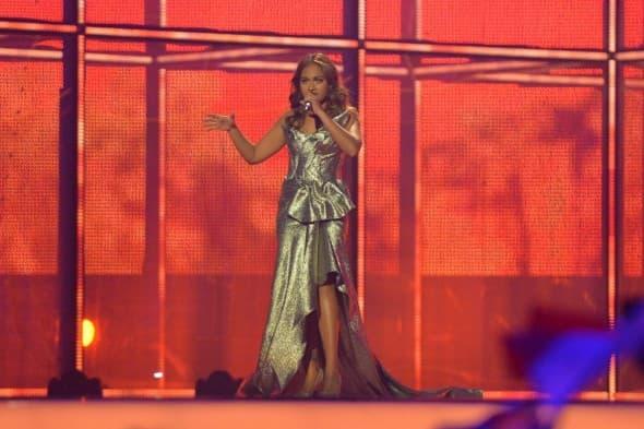 Jessica Mauboy na prošlogodišnjoj Evroviziji