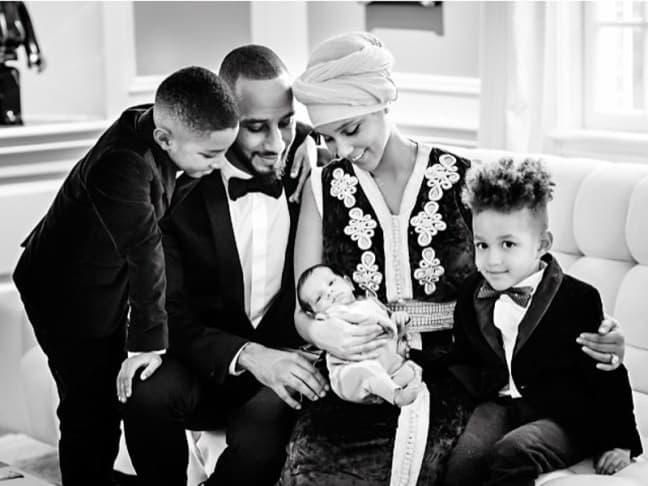 Predivna porodična fotografija porodice Beatz-Keys! (foto: Instagram)