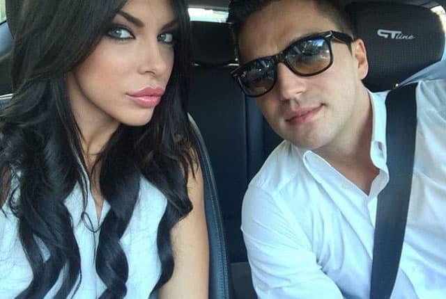 Ana Marija i Vlada kad su bili srećno zaljubljeni (foto: Story)