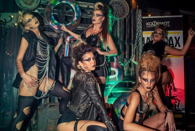 'Mad Max' žurka u Kafemantu, Novi Sad (foto: Facebook)