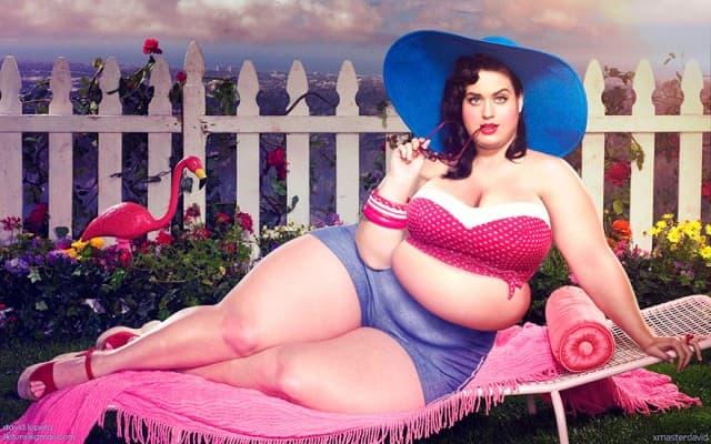 Kako izgleda Katy kao debeljuca? (foto: David Lopera)