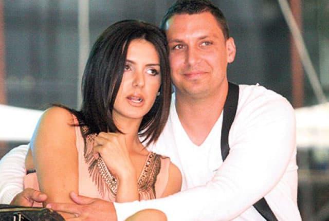 Tanja Savić sa mužem (foto: Kurir)