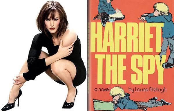Jennifer Garner - Harriet the Spy, Louise Fitzburgh