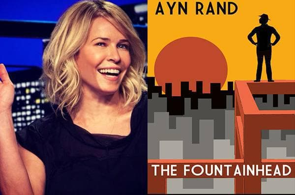 Chelsea Handler -The Fountainhead, Ayn Rand