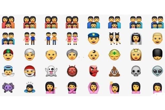 Sad možete da koristite i gej emotikone u dopisivanju (foto: Out.com)
