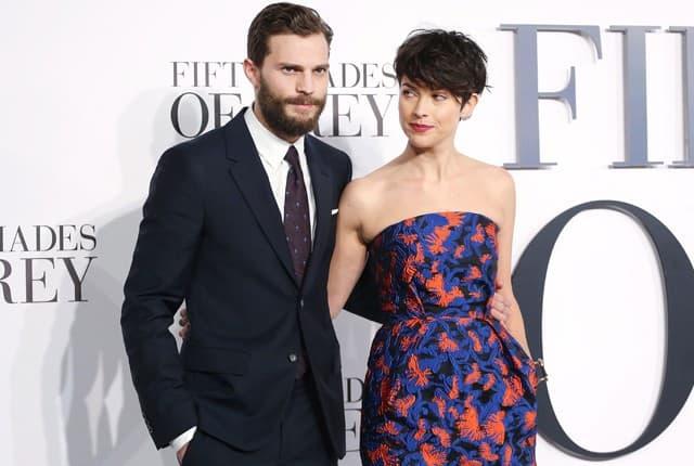 Jamie sa suprugom (foto: wenn)