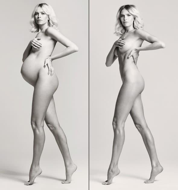 Pre i posle! (foto: Vogue Russia)
