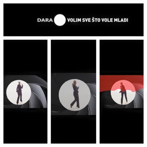 Ne, to nije poster za novi film o Jamesu Bondu, to je samo Dara.