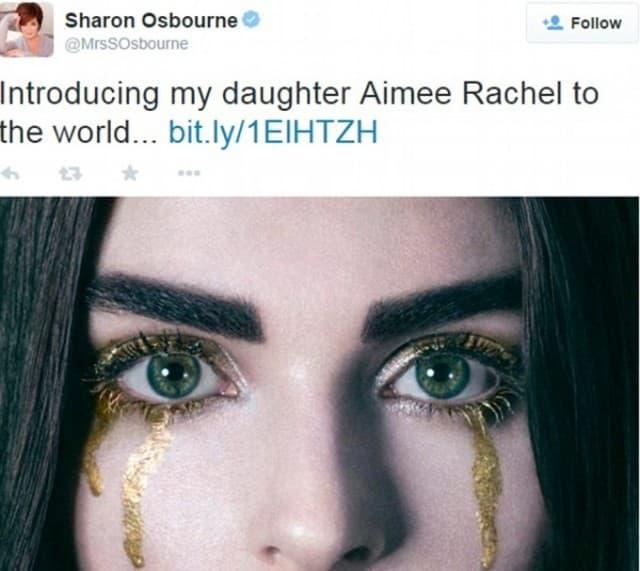Ubrzo uklonjeno sa majčinog profila (foto: Twitter)