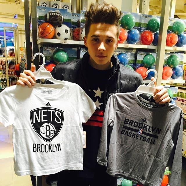Nisam znao da je Brookyn tako popularan (: (foto: Instagram)