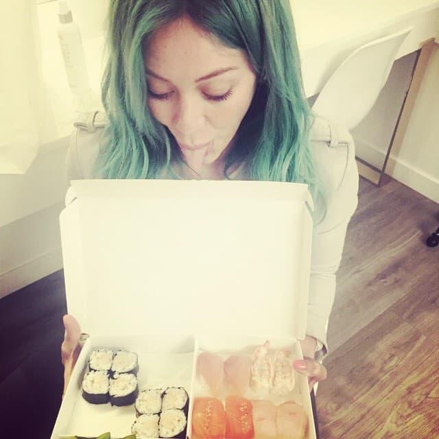 Sirena voli suši (foto: Instagram)