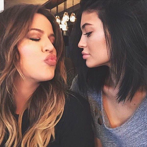 Kylie Jenner i Khloe Kardashian (foto: Hollywood Life)
