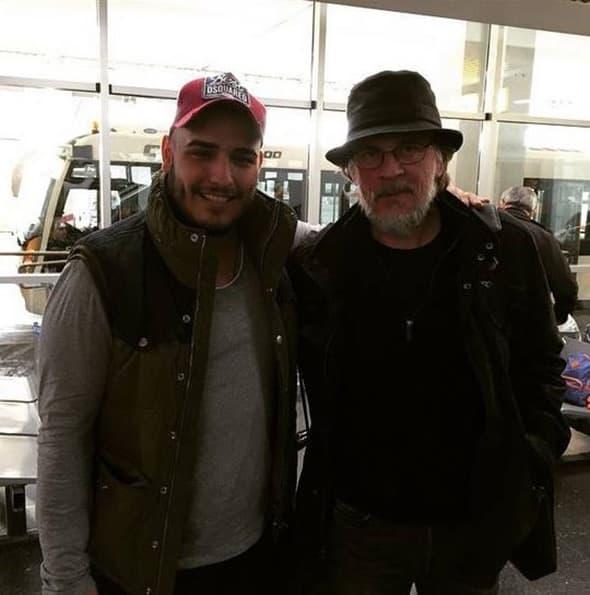 Glumac i pevač se srelu na aerodromu (foto: Instagram)