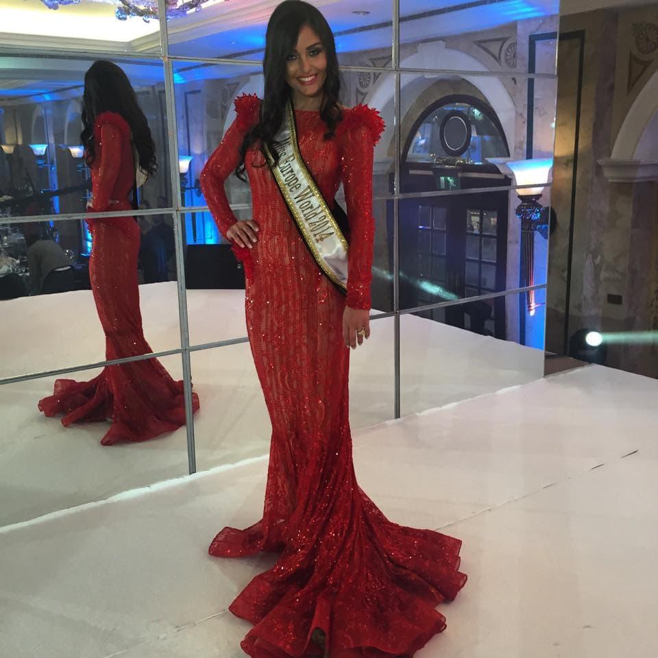 Srpska lepotica u Libanu dočekana kako joj i dolikuje! (foto: Facebook)