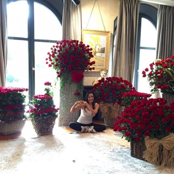 Romantično jutro (foto: Instagram)