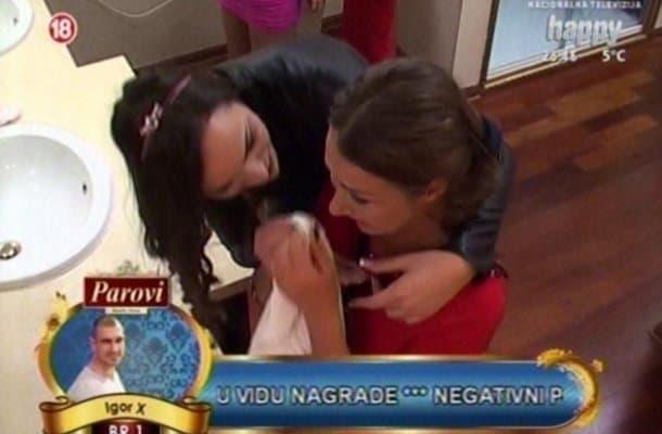 Prve suze u rijalitiju na Happy televiziji! (foto: Puls)