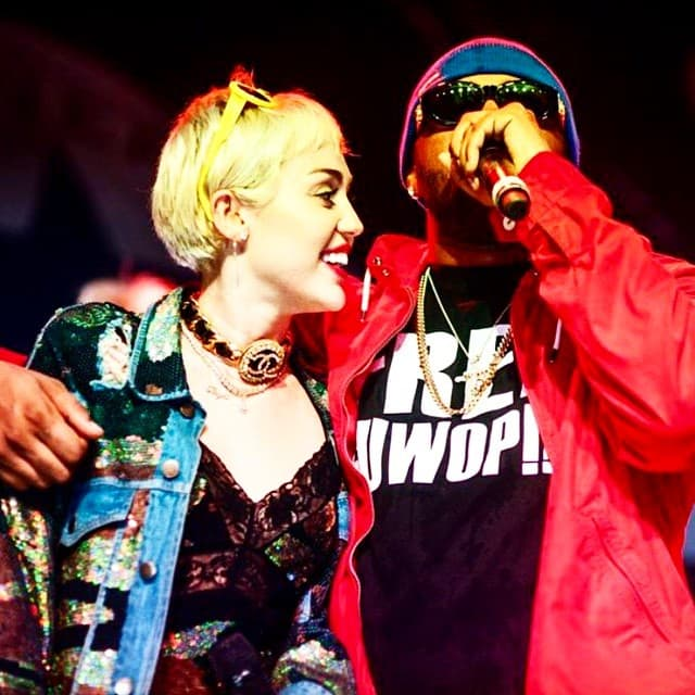 Miley i Mike na festivalu (foto: instagram)