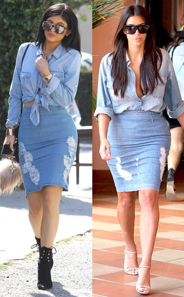 Kylie i Kim u identičnim kombinacijama