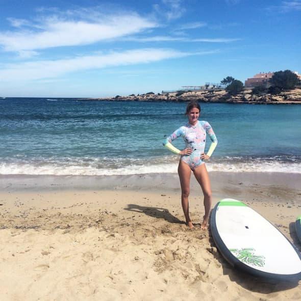 Millie na svom omiljenom ostrvu - Ibici (foto: Instagram)