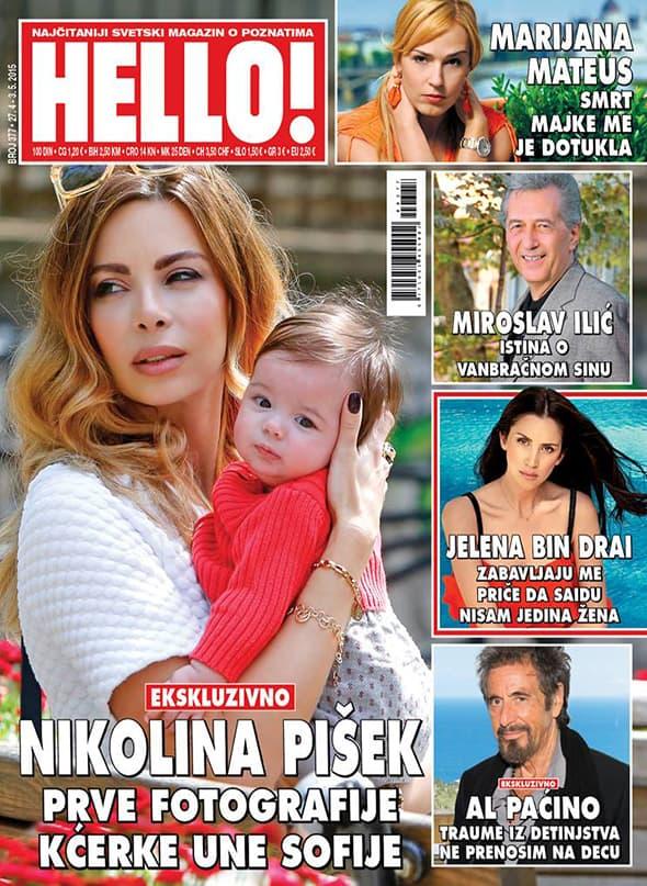Fotografije ekskluzivno u magazinu Hello (foto: Hello Magazin)