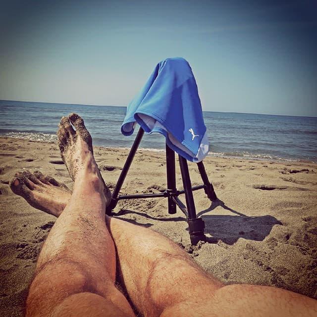 Divlja i pusta plaža idealna je za nudizam (foto: Instagram)