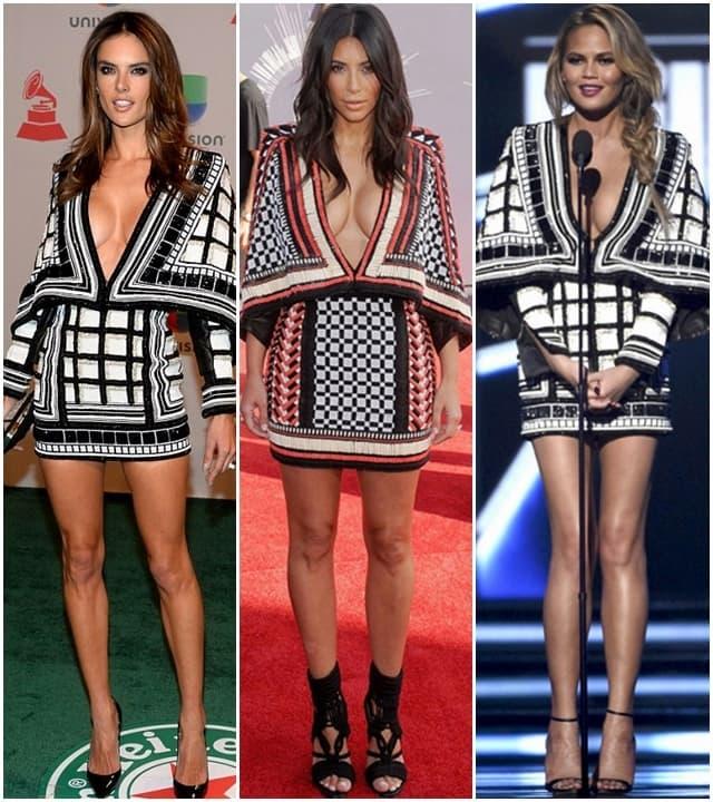 Tri dame u istoj Balmain haljini