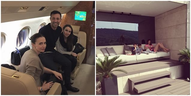 Par uživa u privatnom avionu, kao i pogled na luksuzan dom u Istanbulu (foto: Instagram)