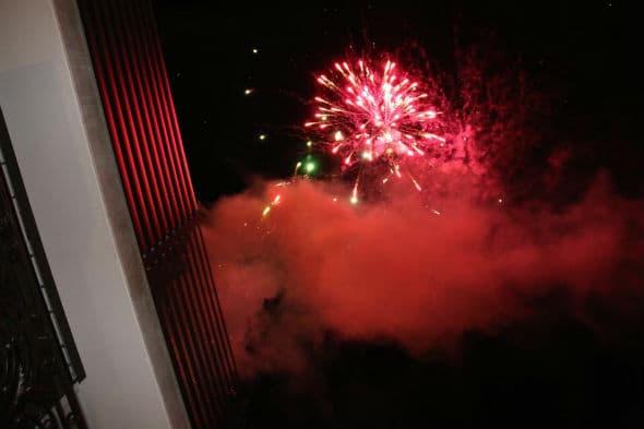 Vatromet koji je oduševio prisutne! (foto: Facebook)