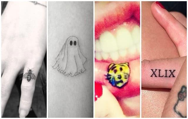 Male Slatke I Neobične Tetovaže Poznatih Dama Tračara