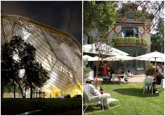 Različiti eksterijeri dva muzeja modne kuće LV (foto: Louis Vuitton)