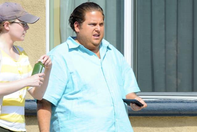 Jonah na snimanju novog filma (foto: Wenn)