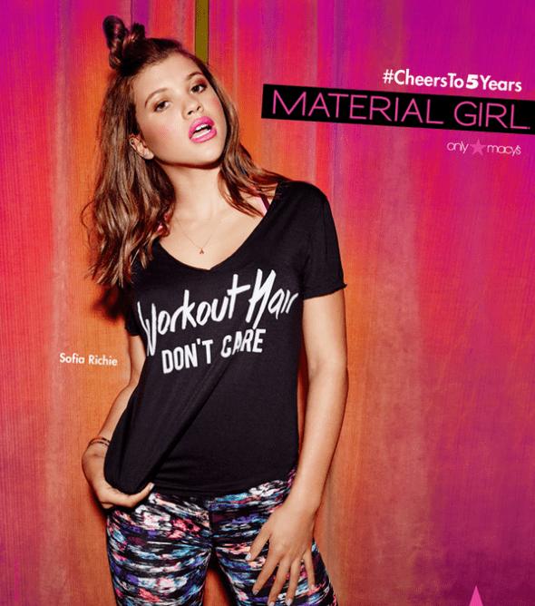 Njenim stilom je oduševljena i ćerka kraljice popa (foto: Material Girl)