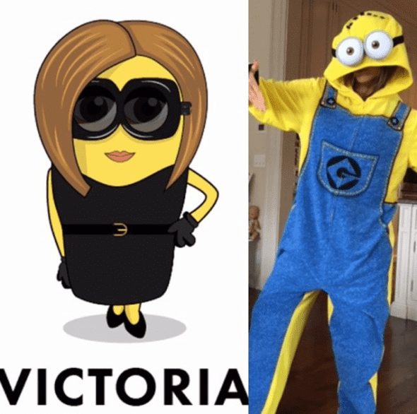 Victoria je oduševljena žutom verzijom sebe (foto: Instagram)