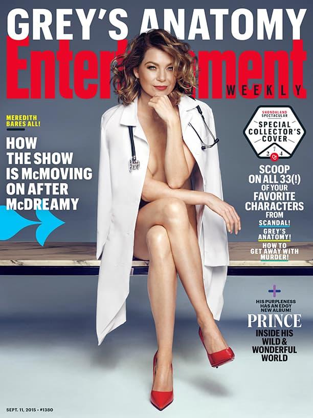 Ellen je besna na ljude koji kažu da smrću McDreamyja serija neće biti ista (foto: EW)