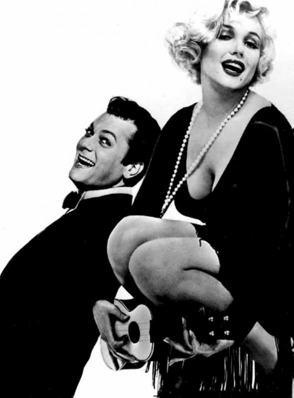Marilyn Monroe  Tony Curtis