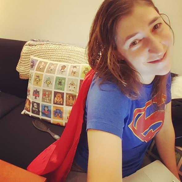 Glumica ima dovoljno samopouzdanja da se fotka bez šminke (foto: Instagram)