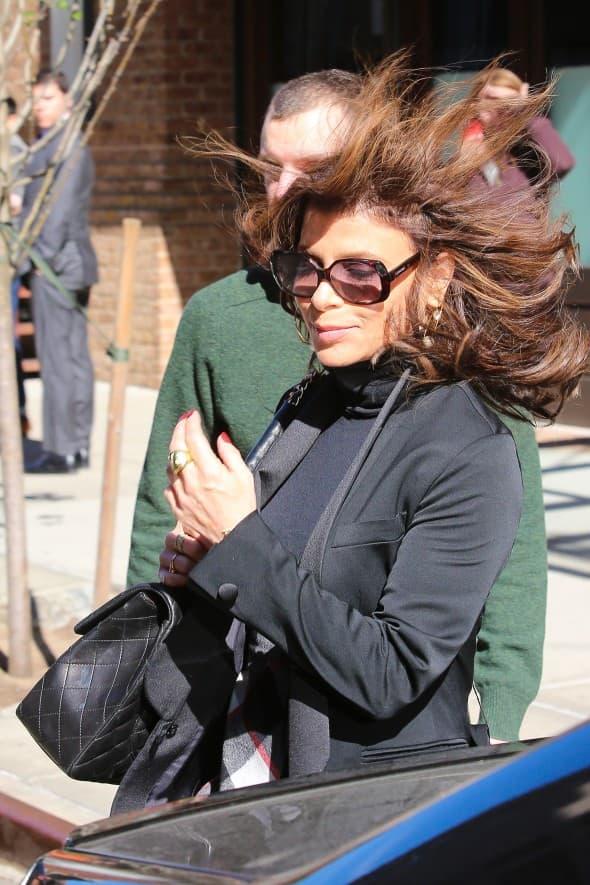 Paula Abdul muči muku sa vetrom (foto: WENN)