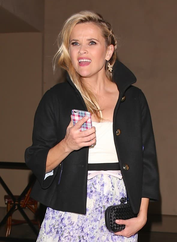 Reese Wintherspoon na Vougue žurci (foto: WENN)