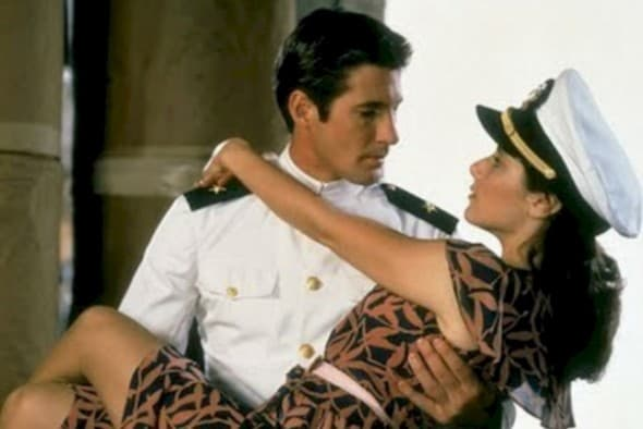 Richard Gere And Debra Winger