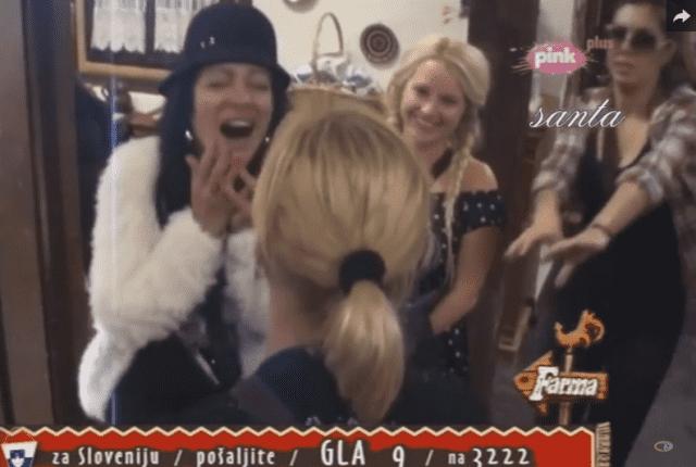 Gabrijela je morala da reaguje (foto: TV Pink)