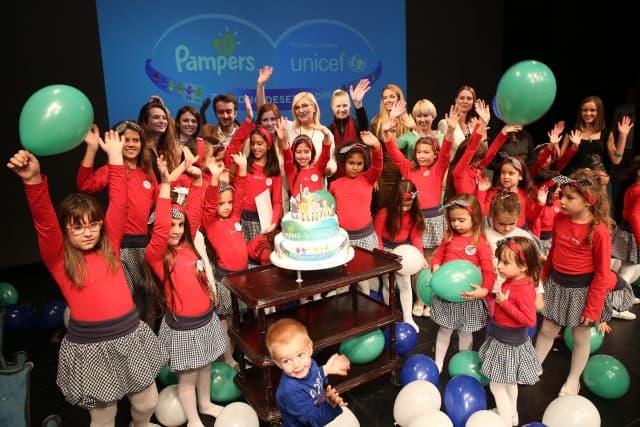 10 godina saradnje Pampersa i UNICEF-a (foto: Newmoment)