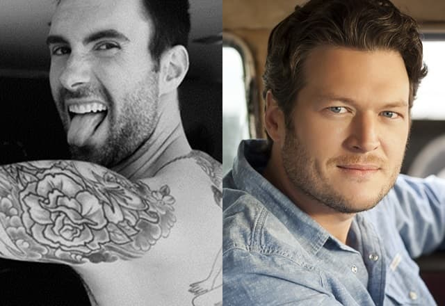 Adamova tetvaža ili Blakeovo pevanje? (foto: Instagram/ Fotonin)
