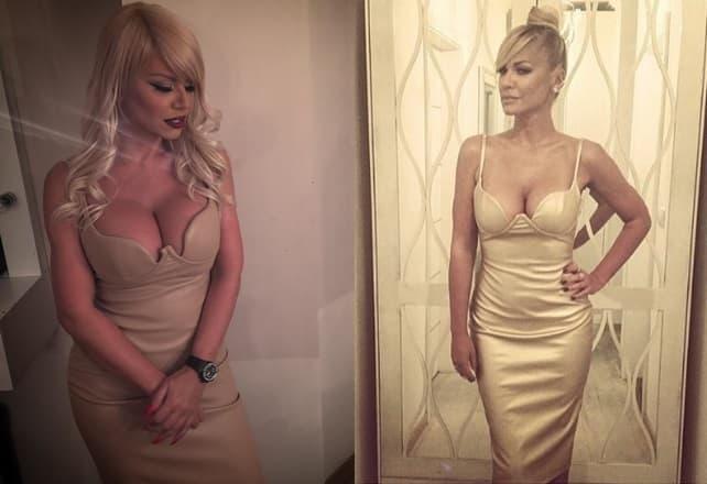 Zlatnu haljinu je Nataša nosila pre dva meseca (foto: Instagram)