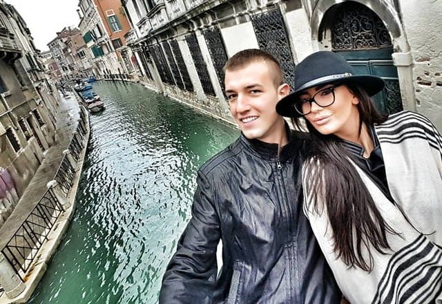 Nemanja i Katarina uživaju u ljubavi (foto: Instagram)